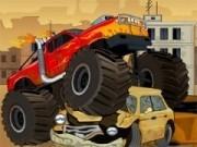 Jocuri cu cursa camioane uriase cu combustibil