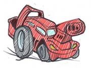 curse cu masini de hartie