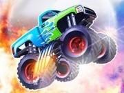 curse de monster truck cu schimbat de viteze