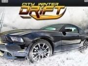 Jocuri cu curse drift in oras pe zapada
