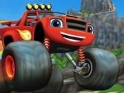 curse monster truck pe insula dragonului