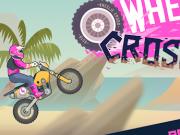 Jocuri cu curse moto cross pe o roata