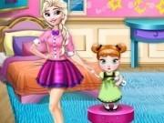 decoreaza camera cu fetele frozen