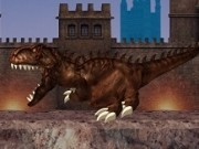 dinozauri t rex distrugeri si explozii