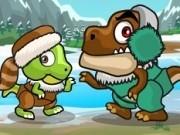 Jocuri cu dinozaurii din epoca de gheata
