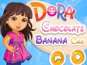 Jocuri cu dora gateste tort cu ciocalata si banane