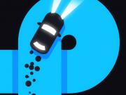 drifterul pe drum periculos