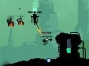Jocuri cu elicopterul droid cu impuscaturi