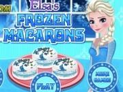 Jocuri cu elsa frozen gateste macarons