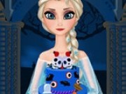 elsa gateste tort de halloween