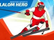 eroii cu ski la slalom