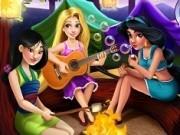 Jocuri cu fetele disney in padure