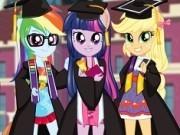 Jocuri cu fetele ponei din equestria la absolvire