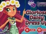 fetele ponei imbracat cu gloriosa daisy