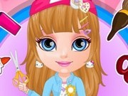 fetita barbie creeaza cadouri