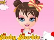 fetita barbie imbraca in costume hello kitty