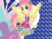 Jocuri cu fluttershy micul meu ponei rock
