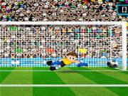 fotbal apara portarul