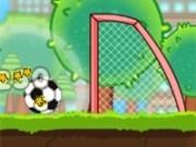 Jocuri cu fotbal cu mingi la tinta
