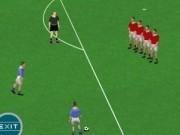 Jocuri cu fotbal de centrat la poarta