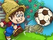 Jocuri cu fotbal la ferma