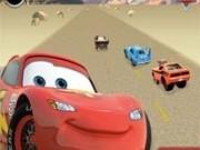 Jocuri cu fulger mcqueen in curse din desert