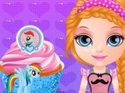 gateste briose my little pony cu bebelusa barbie