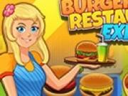 gateste burgeri la restaurant