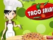 Jocuri cu gatiti cu sara salata de taco
