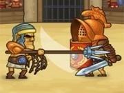 Jocuri cu gladiatori in armata romana