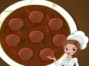 Jocuri cu hannah gateste friptura cu sos