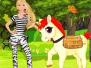 Jocuri cu imbraca barbie si unicornul