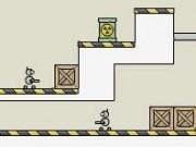 Jocuri cu impuscaturi laser cu roboti in doi
