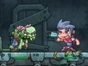 impuscaturi lupta monstri zombi