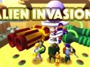 invazia extraterestrii cu turnuri