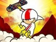 Jocuri cu kick buttowski marele acrobat cu skateboard