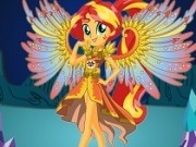 Jocuri cu legenda fetelor ponei cu sunset shimmer