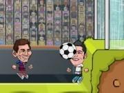 Jocuri cu legendele fotbalului in arena de suturi