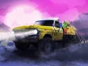 livrari de halloween cu camioane
