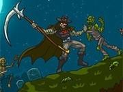 lupta corbului cu zombi