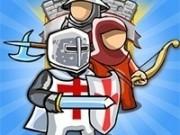 Jocuri cu luptatorii crusader in misiunea apararii castelului