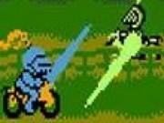Jocuri cu lupte de lance cu cavalerii pe motorete