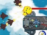 lupte impuscaturi cu avioane pe cer