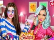 Jocuri cu machiaj cu surorile fashionistas