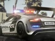 manevre cu masina de politie