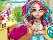 manichiura ever after high cu madeline hatter