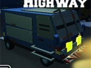 masina patrata in curse 3d pe strada contra zombi