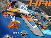 masina zburatoare in curse 3d
