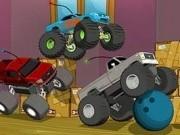 Jocuri cu masini camion de jucarie in curse