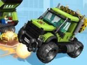 Jocuri cu masini extreme in orasul lego cu vulcani